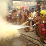 Eau et Vie: Firefighting training, Bhashantek, Bangladesh